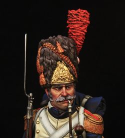 French imperial guard grenadier
