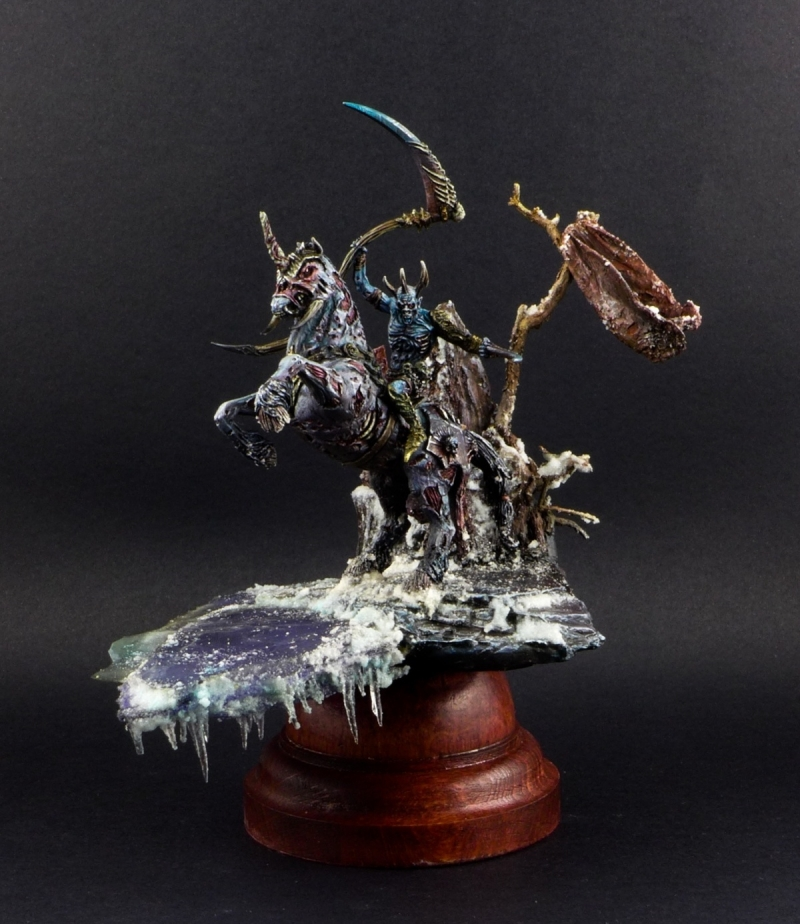 LORD DEATH : Simon miniature.. White walker version