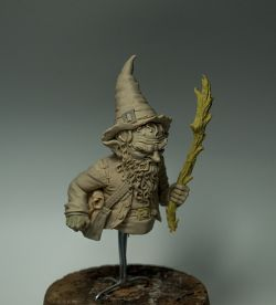 Gnome mage - 1/12 Dungeon Madness bust