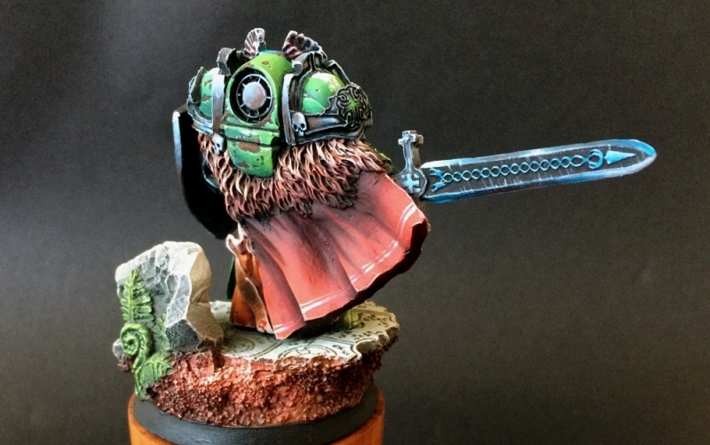 Dark Angels Grand Master Templus (Scibor Monstrous Miniatures)