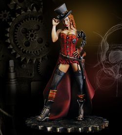 Deputy Betty - Steampunk