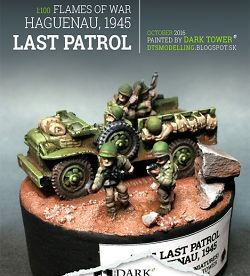 1:100 The Last Patrol, Haguenau, 1945 (Flames Of War, Battlefront Miniatures)