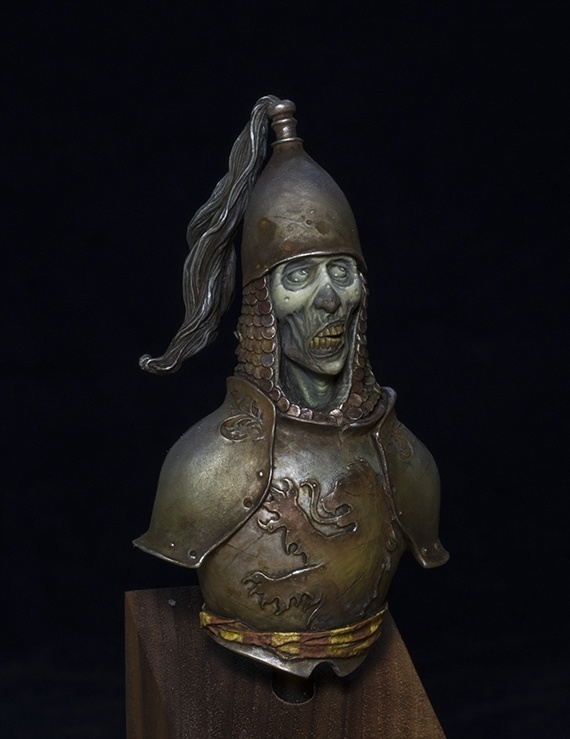 Zombie Knight Bust