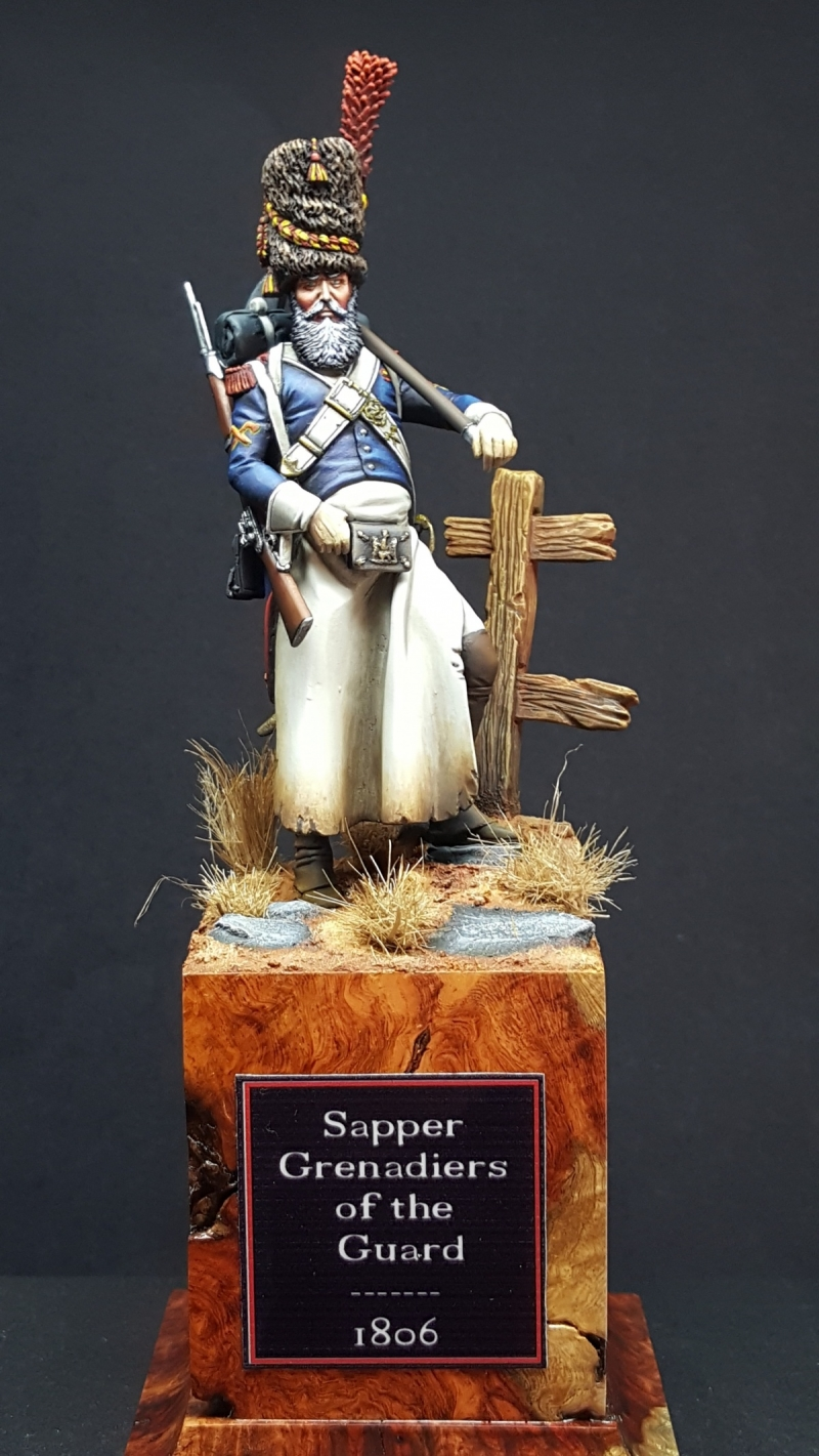 Sapper Grenadiers of the guard 1806
