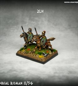 Early Imperia Roman Light Cavalry with Shields