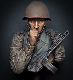 WW2 Young Red Army Infantryman, Battle of Kursk