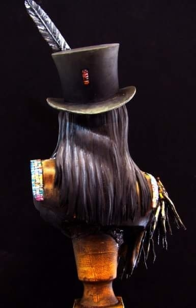 Tall Hat Indian Chief by Costas Rodopoulos · Putty&Paint