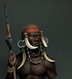 Mursi Warrior From Altores Studio