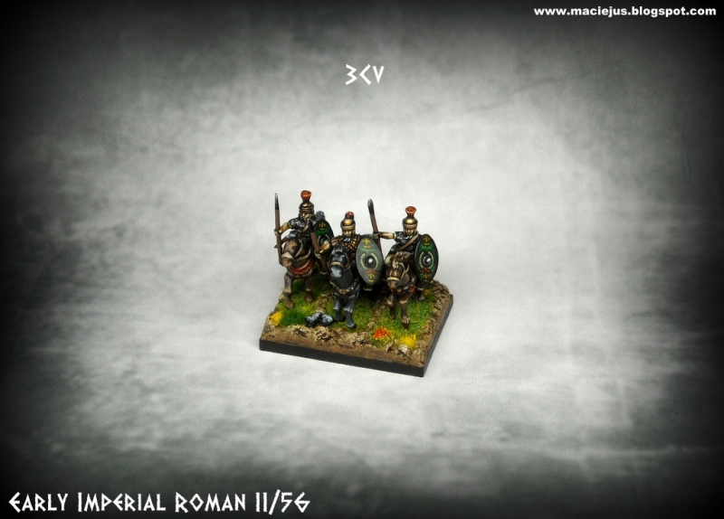 Early Imperia Roman Cavalry (15mm scale)