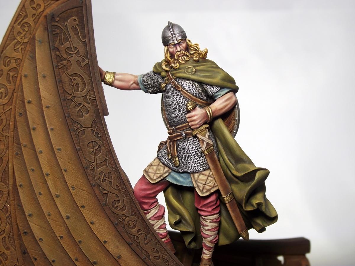 Viking Warrior by Máté Novák · Putty&Paint