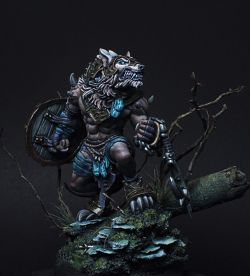 Loki, Circle of Orboros Warpwolf