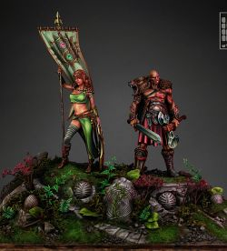 Zhork-Seth and Zoraida