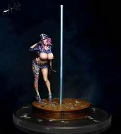 Nightstick bitch police - Scale 90mm/1:20 (2017)