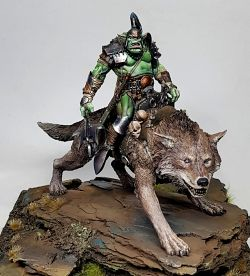 Orc on Wolf - Terrible Kids Stuff