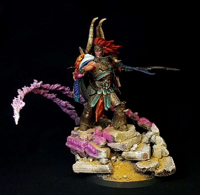 Magnus the red Primarch of the Thousand sons legion