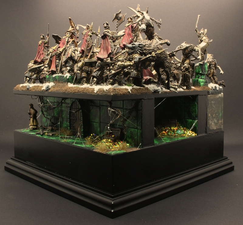 "GDUK 2017 Diorama  ""Bitter Blood"""
