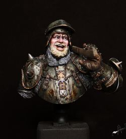 La Hire - Battle of Patay 1429 - Bust 1/10 by Young miniatures (2017)