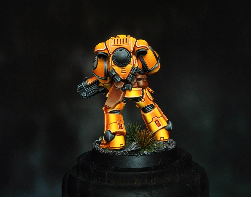 Imperial Fists Space Marine Primaris Hellblaster