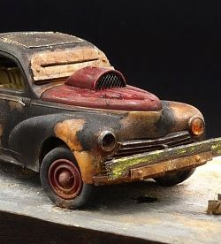 "Peugeot 203 ""Fury road"" [New photos]"