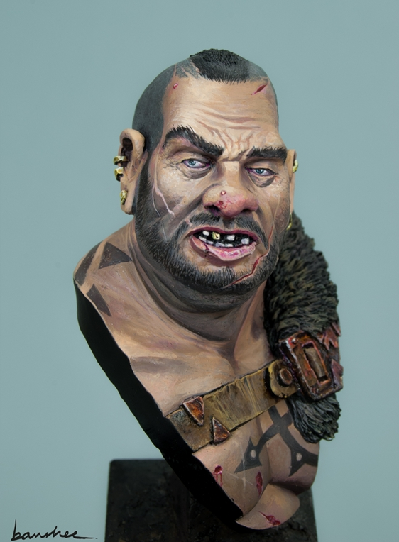 """Don't fuck with me"" - Ogre bust"