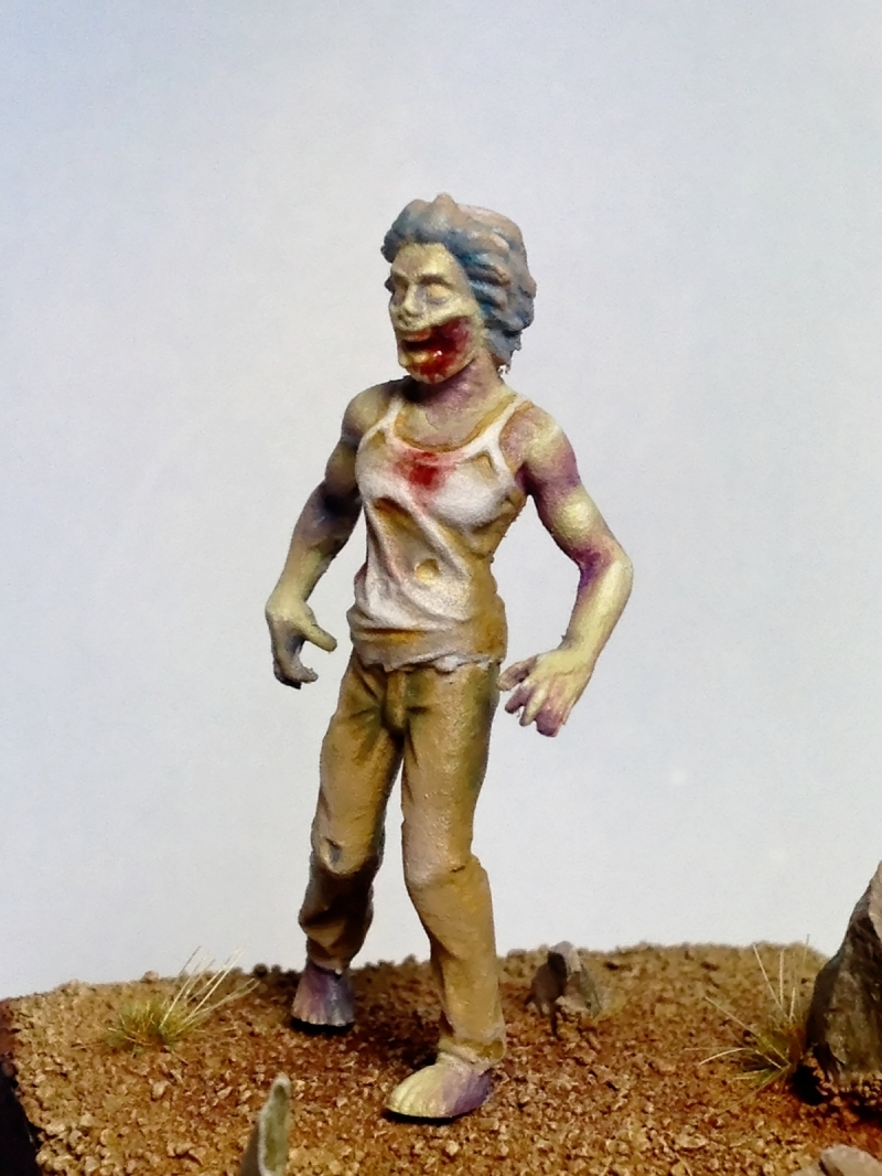 female zombie by dominique perrin by energypowerfull
