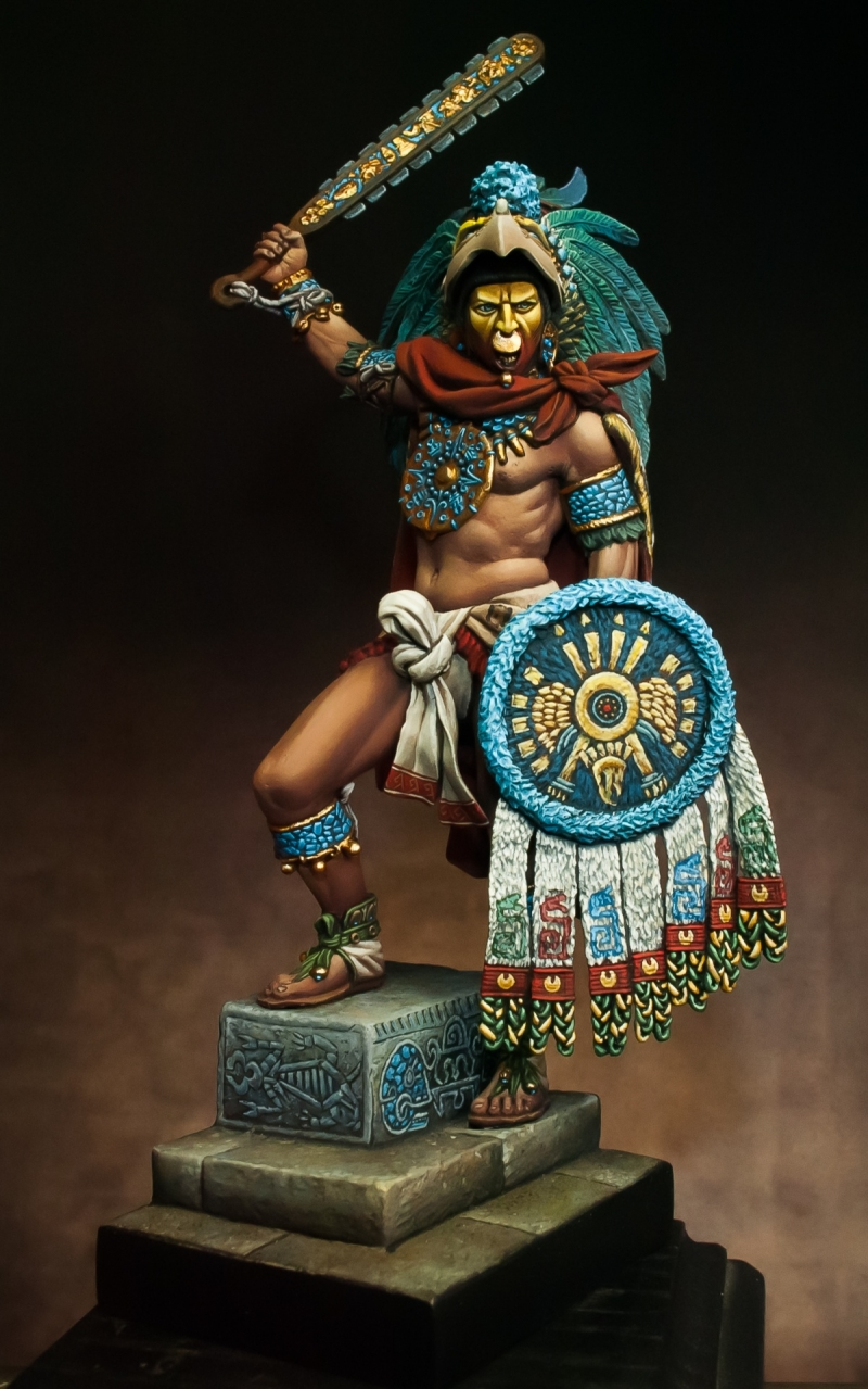 Montezuma Aztec Emperor By Alessandro 183 Putty Amp Paint