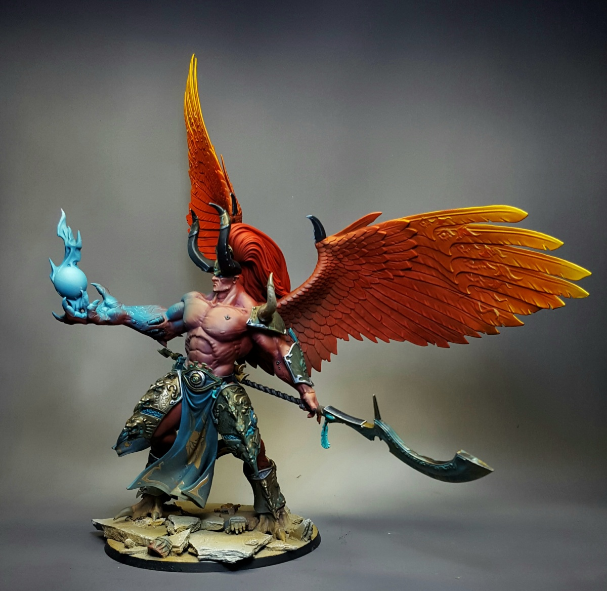Painting Magnus The Red