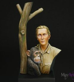 Mother of Chimpanzee, Jane Goodall
