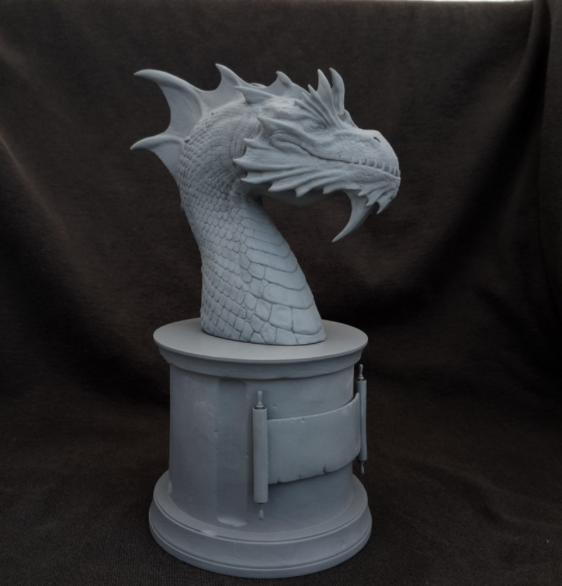 Rathaless dragon bust