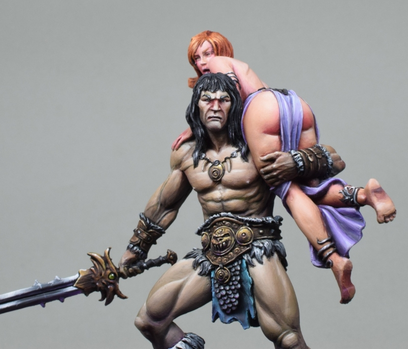 Conan and the Lost Princess - Black Sun Miniatures