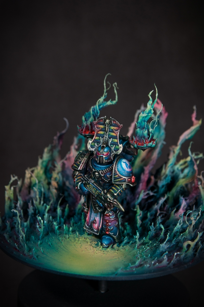 """The Flame of Tzeentch"""