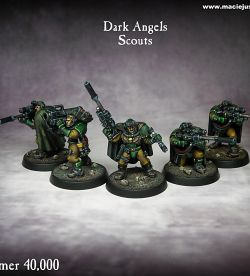 Warhammer 40k Dark Angel Scout