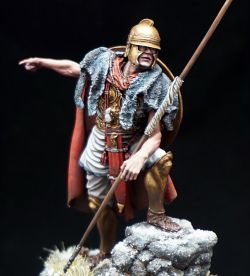 Carthaginian Soldier in Hannibal Army