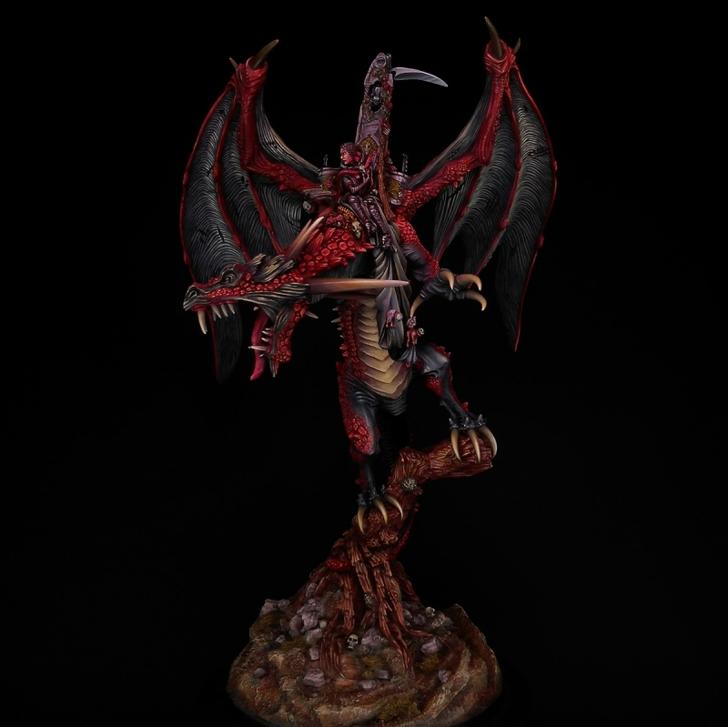 Elspeth von Draken on Carmine Dragon.