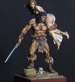 The barbarian and the princess