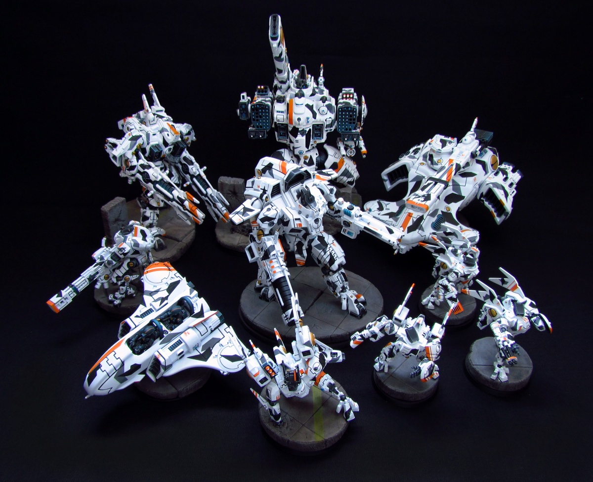 Small Tau army by Nakovaln9 · Putty&Paint