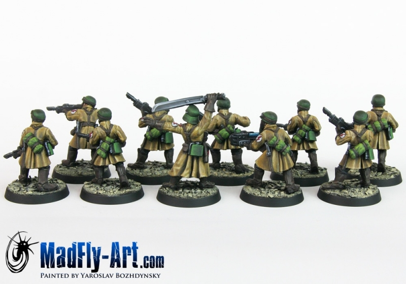 Steel Legion Infantry Squad 3