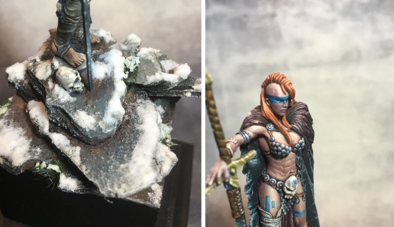 Bloodpeak Queen - Ouroboros Miniatures