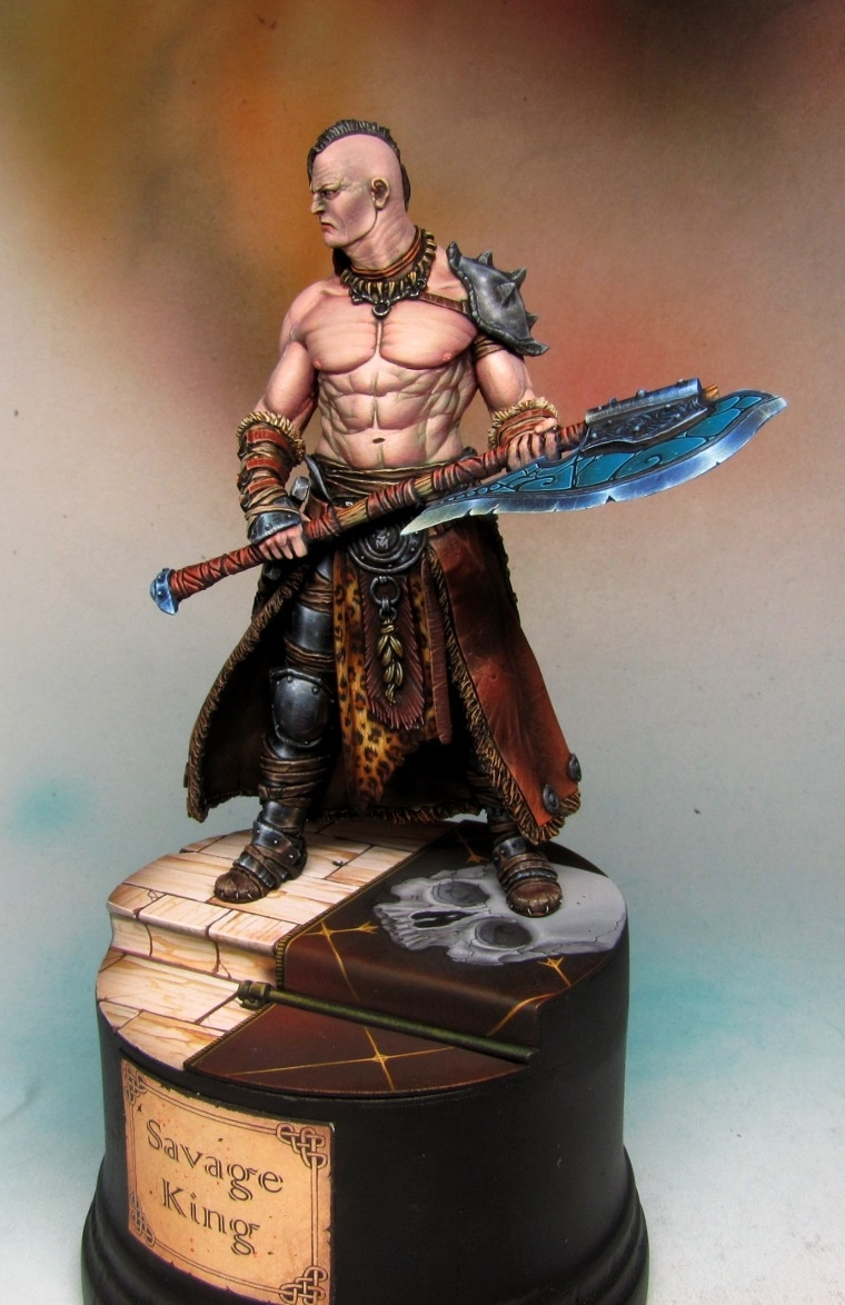 """Savage King"" Black Sun Barbarian"