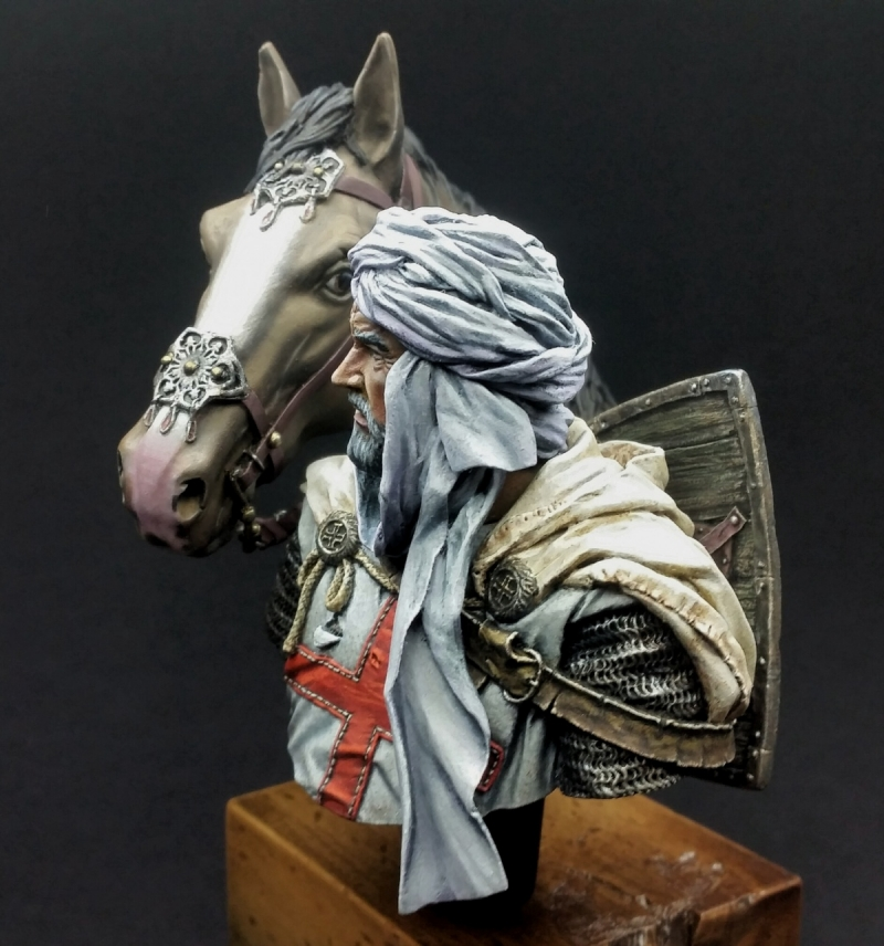 Knight with horse