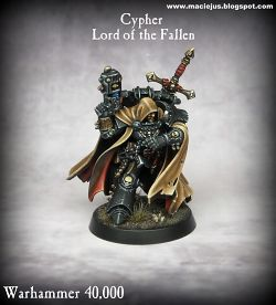 Cypher Lord of the Fallen 40K