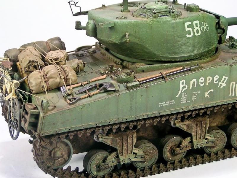 Sherman M4a2 76 Red Army By Krzysztof Wisniewski 183 Putty