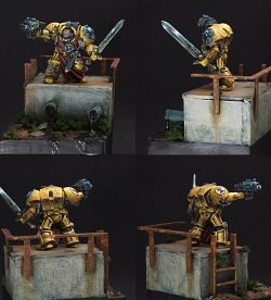Imperial Fist Captain