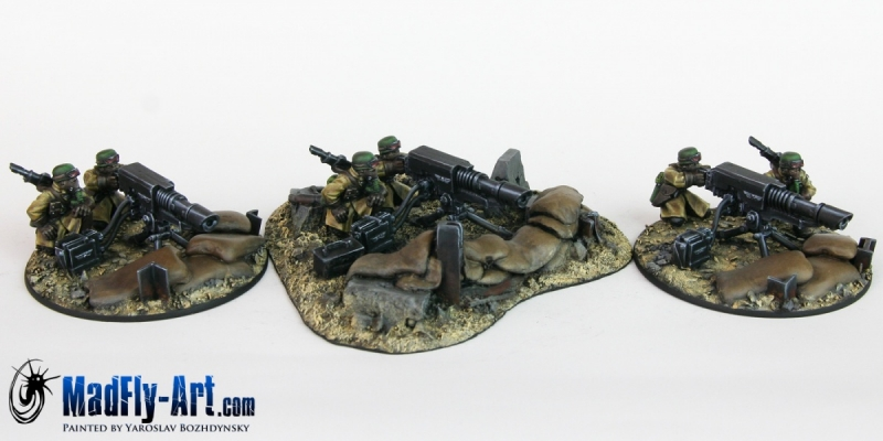 Steel Legion Heavy Weapons Squad 1