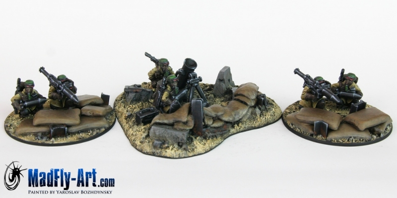 Steel Legion Heavy Weapons Squad 2