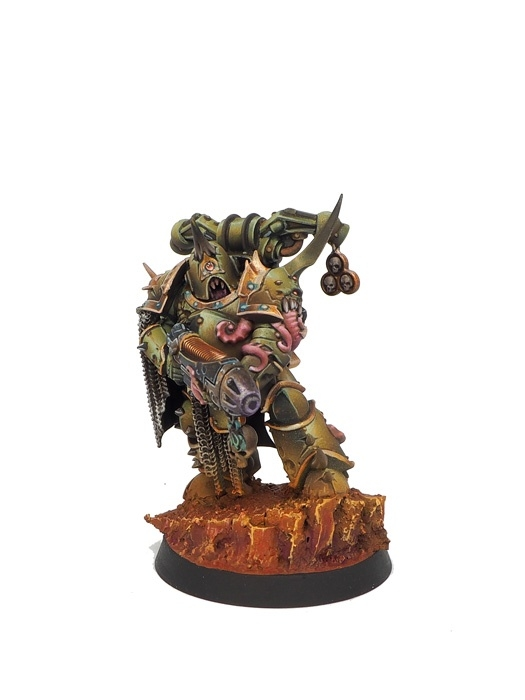 Nurgle chaos Space MArine's squad