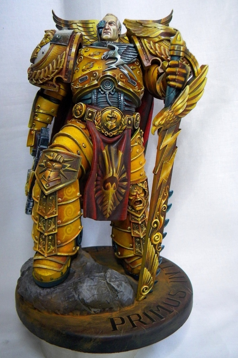 Rogal Dorn - Primarch of the Legion Imperial Fists
