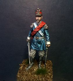 Officer of the line infantry. Italy, 1849