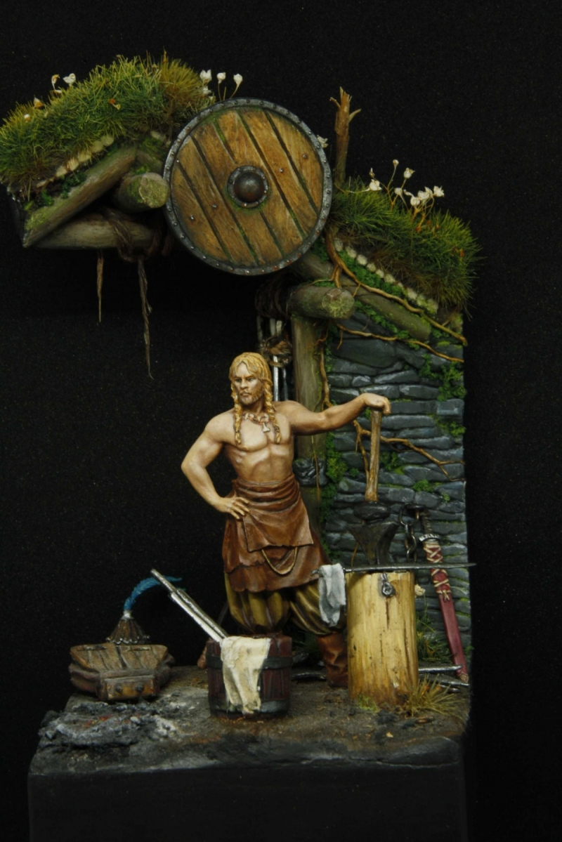 Norse Blacksmith By Laurent Aubry Aka Pisco 183 Putty Amp Paint