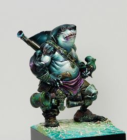 Dzhur-ghul the robber ( Shark )